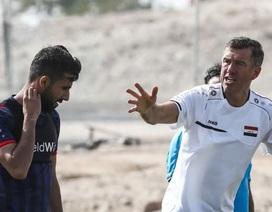 """HLV Iraq: """"Đối đầu với đội tuyển Việt Nam còn khó hơn cả Iran"""""""
