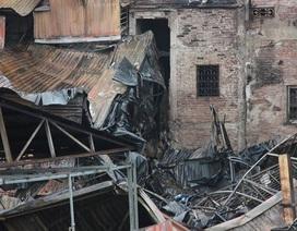 """""""Vướng"""" giải phóng mặt bằng sau vụ cháy gần viện Nhi, 6 hộ dân không thể về nhà"""