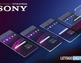 Sony tham vọng gia nhập cuộc đua smartphone có thể gập được