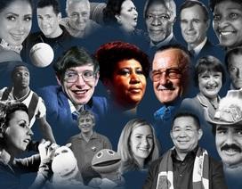 Những nhân vật nổi tiếng thế giới qua đời năm 2018