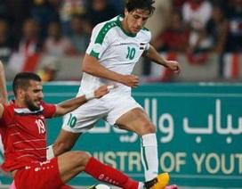 Ngôi sao trẻ của đội tuyển Iraq bị nghi ngờ gian lận tuổi