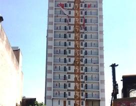 """""""Lùm xùm"""" tại Tân Bình Apartment: Tự tháo dỡ công trình sai phạm nhưng kéo dài hết năm 2019"""