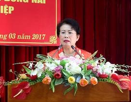 Bà Phan Thị Mỹ Thanh nhận nhiệm vụ tại Ủy Ban MTTQ tỉnh Đồng Nai