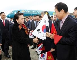 Chủ tịch Quốc hội lên đường thăm chính thức Hàn Quốc