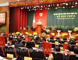Hải Phòng bầu bổ sung Phó Chủ tịch UBND TP