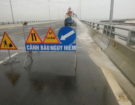 Đề nghị công an vào cuộc vụ cầu vượt biển dài nhất Việt Nam bị rải đinh