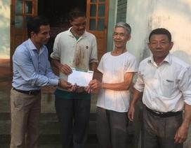 Quà nhân ái tiếp tục đến với gia đình ông Đỗ Văn Cường