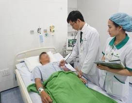 Mổ bóc u, nam bệnh nhân bị ngộ độc thuốc gây tê