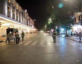Hà Nội: Cấm các ngả đường dẫn vào hồ Hoàn Kiếm