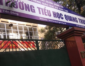 """Học sinh trường Quang Trung bị bạn tát: Cô giáo phủ nhận việc """"chỉ đạo"""""""