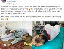 """Hà Nội: Thực hư câu chuyện gia đình """"hotgirl xăm trổ"""" bị truy sát"""