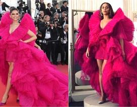 Beyonce đụng váy áo với minh tinh Bollywood