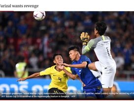 Báo Malaysia tuyên bố muốn… phục thù đội tuyển Việt Nam