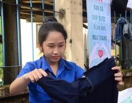 Quảng Ngãi: Bán quần áo cũ tạo quỹ giúp bệnh nhi máu trắng