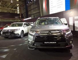 Liên tiếp 3 đợt triệu hồi xe Mitsubishi Outlander tại Việt Nam