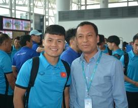 Đội tuyển Việt Nam lên đường sang Malaysia đá trận chung kết lượt đi