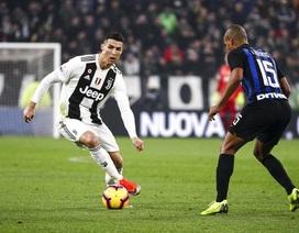 """C.Ronaldo """"im tiếng súng"""", Juventus vẫn xuất sắc hạ gục Inter"""