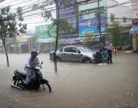 Quảng Nam: Hôm nay học sinh nghỉ học tùy tình hình mưa lụt ở từng địa phương