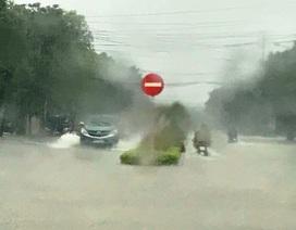 Nhiều tỉnh miền Trung tiếp tục mưa giông, có nơi mưa rất to