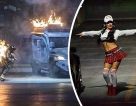 """Choáng ngợp với liveshow """"Fast & Furious"""" tiêu tốn 800 tỷ đồng"""