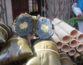 Bánh chưng đen - đặc sản mừng năm mới độc đáo của xứ Lạng