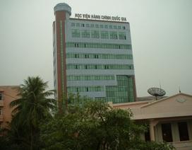 Năm 2018, Học viện Hành chính quốc gia dừng đào tạo hệ đại học