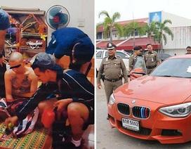 Trùm ma túy đi siêu xe đội lốt nhà sư Thái Lan bị sa lưới