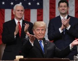 Những điểm khác biệt trong Thông điệp Liên bang đầu tiên của ông Trump