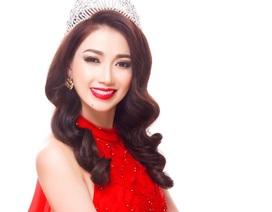 Hoa hậu Đông Nam Á Hồng Tươi khoe vẻ đẹp rực rỡ đầu năm mới