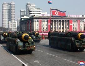 """Ảnh hiếm lễ duyệt binh """"kín tiếng"""" của Triều Tiên"""