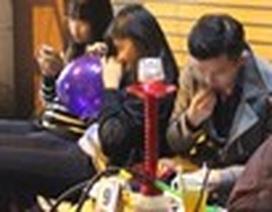 """Nhiều quán Karaoke ở Hà Nội hút khách bằng Shisha, """"bóng cười"""""""