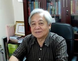 """GS.TSKH Phạm Tất Dong: """"Không tham gia đào tạo, nghiên cứu nên trả lại chức danh giáo sư"""""""