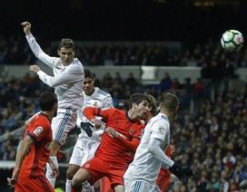 Real Madrid 5-2 Sociedad: Cú hattrick của C.Ronaldo