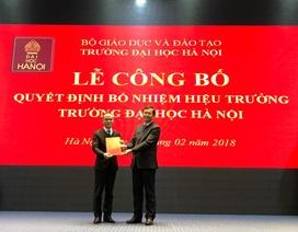 Trường Đại học Hà Nội có hiệu trưởng mới