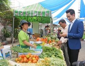 """Nông sản của các Startup """"áp đảo"""" phiên chợ Tết xanh Sài Gòn"""