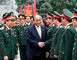 Thủ tướng kiểm tra công tác ứng trực của Bộ Tư lệnh thủ đô