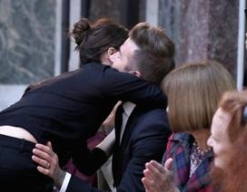 Khoảnh khắc ngọt ngào của gia đình Beckham