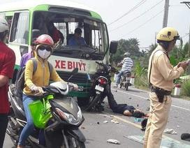 Tông trực diện xe buýt, 2 người tử vong tại chỗ