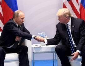 """Thiện chí của ông Putin và ông Trump trong mối quan hệ """"băng giá"""" Nga - Mỹ"""