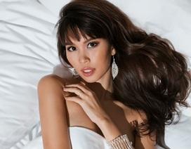 Siêu mầu Hà Anh mang bầu 5 tháng vẫn hóa thiên thần nóng bỏng ngày Valentine