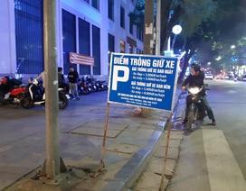 """Hà Nội: Siêu """"phá giá"""" gửi xe máy xem bắn pháo hoa tại Hồ Gươm"""