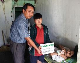 Hơn 98 triệu đồng được trao đến gia đình ông Võ Đồng Thinh