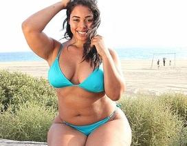 """Tabria Majors: Từ cô nhân viên vệ sinh trở thành người mẫu """"béo"""" duyên dáng"""