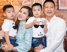Mỹ Dung bị chồng nhắc nhở vì… quá yêu con!