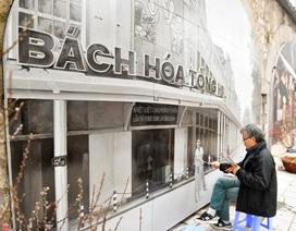 Ngắm tranh bích họa trên những vòm cầu phố Phùng Hưng
