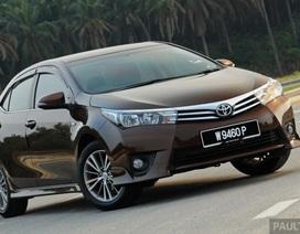 Túi khí không bung, Toyota triệu hồi Corolla Altis