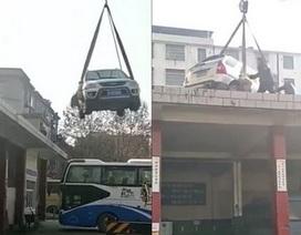 Bài học nhớ đời cho việc đậu xe sai chỗ