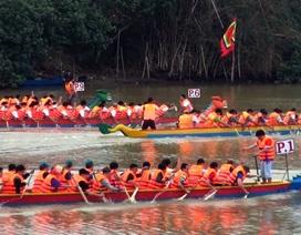 600 tay chèo tham gia Hội đua thuyền truyền thống tại sông Đà Rằng