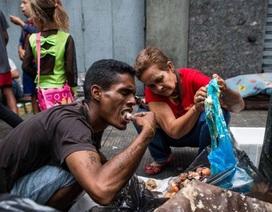 Mỗi người Venezuela sụt 11 kg vì khủng hoảng kinh tế