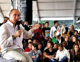 Những đứa trẻ lớn lên cùng Tổng thống Putin